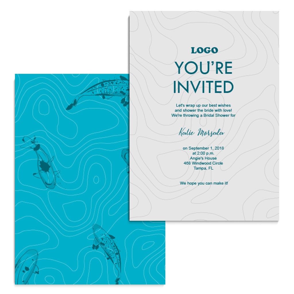 Custom Invitation Design Unique Design Customized For Your