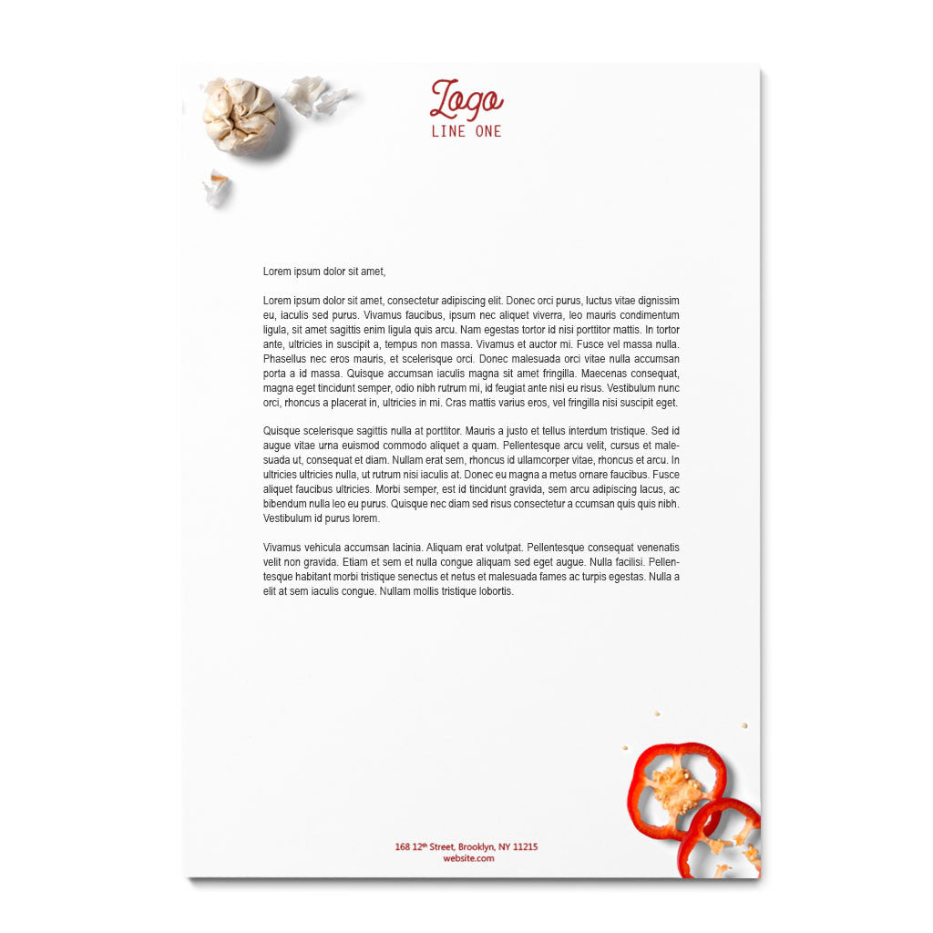 Custom Letterheads Design  Printing Services For Business  Company
