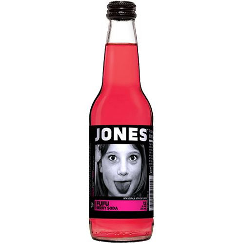 Mixers - Jones Fufu Berry Soda