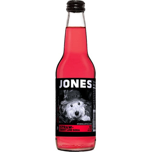 Mixers - Jones Strawberry Lime Soda