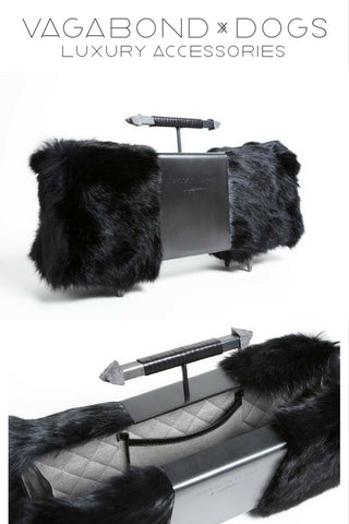Eccentric leather dog accessories and some bespoke luxury handbags I made for private clients.