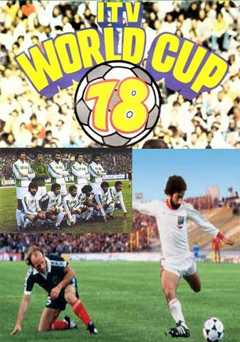 Iran in 1978 World Cup Argentina (3 DVDs)