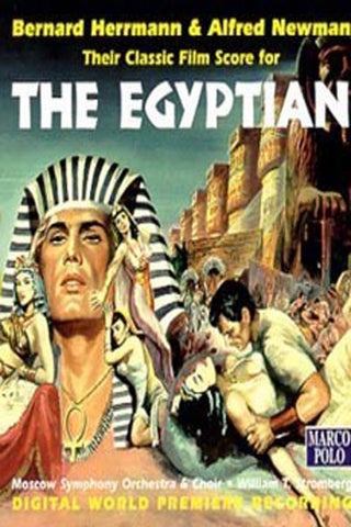 The epic Hollywood movies, Egyptian in Farsi (DVD)