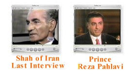 Last interview of Shah in exile (DVD)