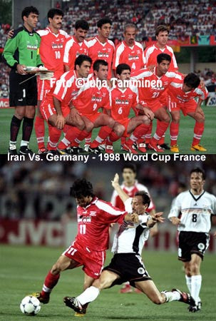 Iran vs Germany (98 Cup) DVD
