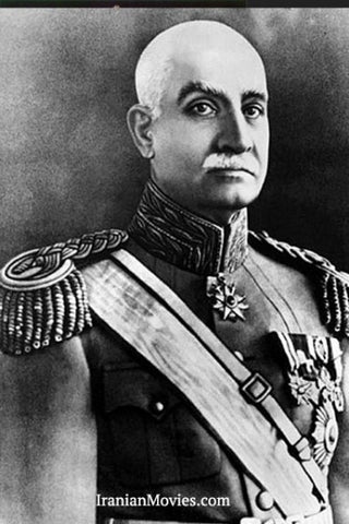 Reza Shah of Iran, a Biography Film DVD in Farsi