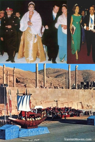 Shah of Iran Big Party in 1971 (DVD0 مهمانی بزرگ شاه