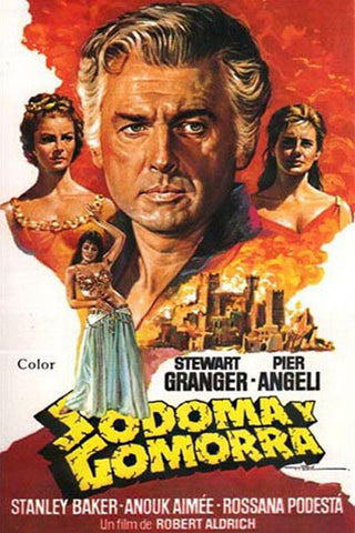 Sodom y Gomorra epic movie dubbed in Farsi (DVD)