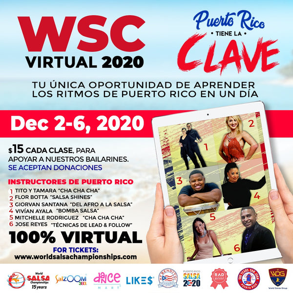 The World Salsa Championship Reinvents Itself with Its First Virtual Edition And $2,020 In Cash Prizes