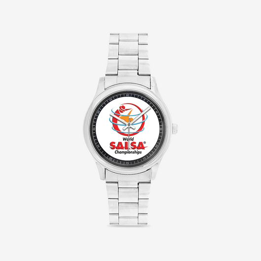 WSC Stainless Steel Sport Men's Watch-Private Collection - World Salsa Championships