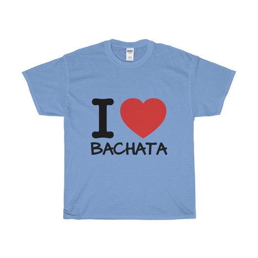 I LOVE BACHATA Unisex Heavy Cotton Tee - World Salsa Championships