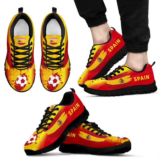 Spain World Cup sneakers-Men - World Salsa Championships