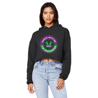 Dance with Me Unisex Cropped Raw Edge Boyfriend Hoodie - World Salsa Championships