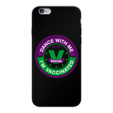 Dance with Me Back Printed Black Soft Phone Case - World Salsa Championships
