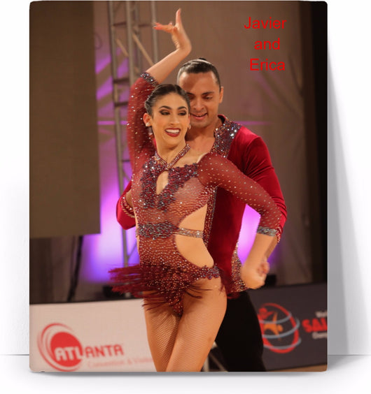 Custom Canvas with your Picture - world-salsa-championships