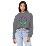 Dance with Me Unisex Cropped Raw Edge Boyfriend Hoodie