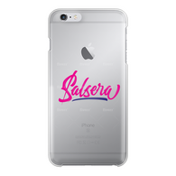 Salsera Back Printed Transparent Hard Phone Case