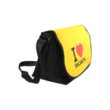 I Love Bachata Messenger Bag New Messenger Bag (Model 1667) - World Salsa Championships
