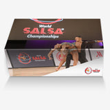 Personalized Italian Leather Sneakers with WSC Logo - World Salsa Championships