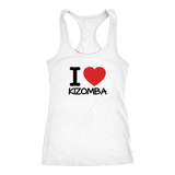 I love KIZOMBA Dancer Tank Top - World Salsa Championships