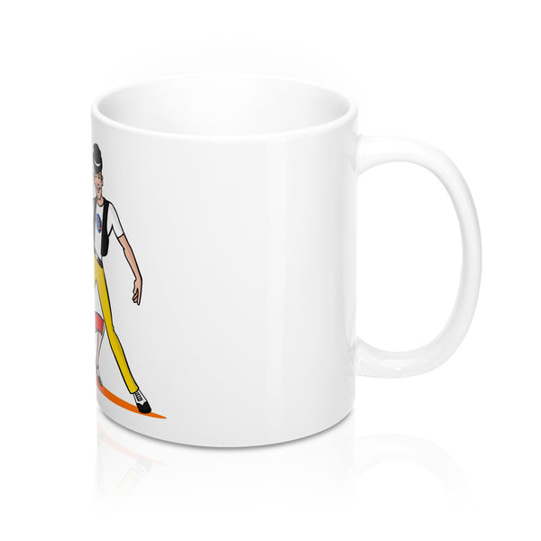 SalZOOM Mug 11oz-  Sal and  ZOOM Cartoons - World Salsa Championships