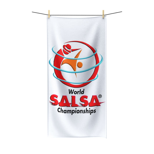 Polycotton Beach Towel - World Salsa Championships