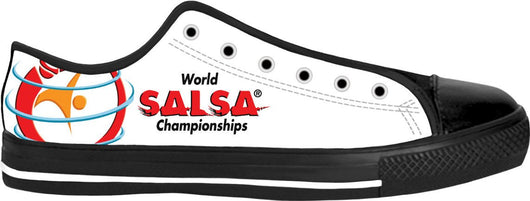 WSC low top sneakers - world-salsa-championships