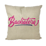 Bachatera Throw Pillows