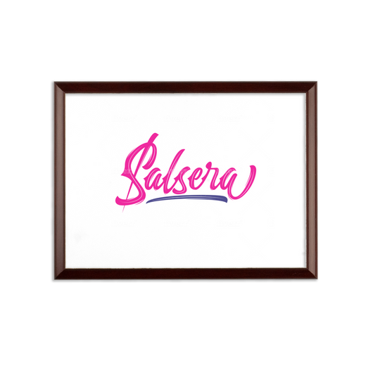 Salsera Sublimation Wall Plaque