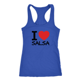 I love Salsa Dancer Tank Top - World Salsa Championships