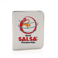 PU Leather Long Wallet Card Holder Purse Handbag - World Salsa Championships