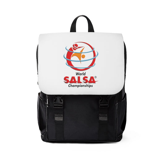 Unisex Casual Shoulder Backpack - World Salsa Championships