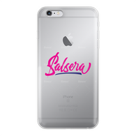 Salsera Back Printed Transparent Soft Phone Case
