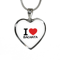 I love Bachata Pendants - World Salsa Championships
