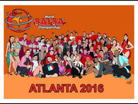 Limited Edition WSC Poster - World Salsa Championships