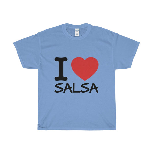 I LOVE SALSA Unisex Heavy Cotton Tee - World Salsa Championships
