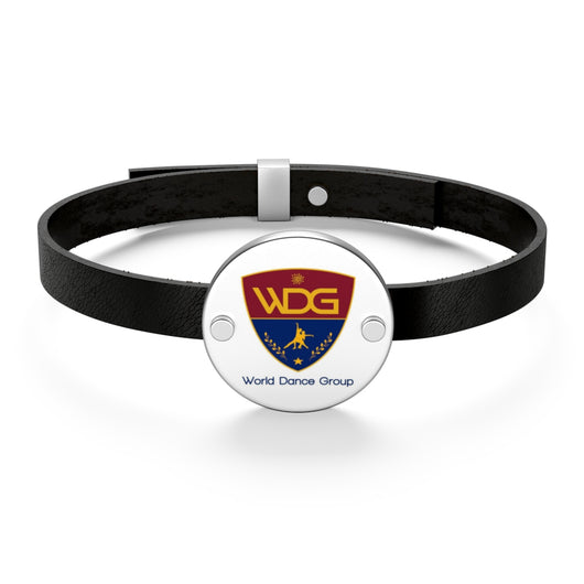 WDG Leather Bracelet - World Salsa Championships