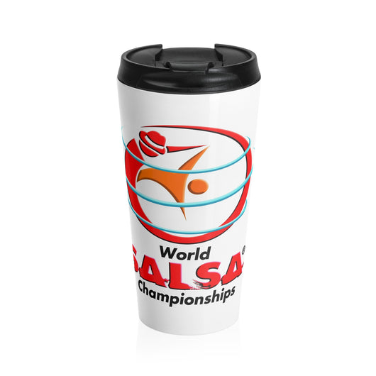 World Salsa Championships Stainless Steel Travel Mug