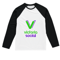 Victoria Social Sublimation Baseball Long Sleeve T-Shirt - World Salsa Championships