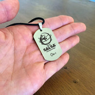 WSC Personalized Dogtag Necklace On-1