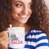 Mugs-This Girl Loves Salsa