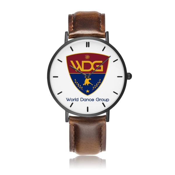 World Dance Group exclusive watch (brown) - World Salsa Championships
