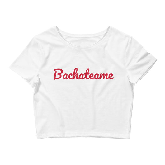 Women's Crop Bachateame Tee - World Salsa Championships
