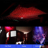 USB romantic starry night light atmosphere lamp home or car ceiling - World Salsa Championships