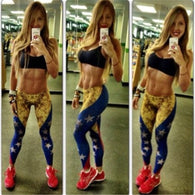 Leggings For Women Slim Pants Venezuela Flag Print Aor Leggings Workout  Fitness Active Leggins Just Do It  Cosplay - World Salsa Championships