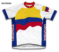Colombia Cycling Jersey Bicycle Bike Short Sleeve Mens Sportswear Roupa Ciclismo/Quick-Dry Racing Bicycle Clothing - World Salsa Championships