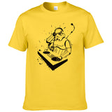 Creative design DJ Printed Star Wars T Shirt Men Women funny Tees Short Sleeve - world-salsa-championships