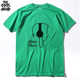 COOLMIND casual 100% COTTON o neck ear phone DJ printed men t shirt - World Salsa Championships