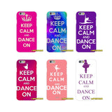 Keep Calm and Dance On Soft Silicone phone Case For Samsung Galaxy A3 A5 A7 J1 J2 J3 J5 J7 2015 2016 2017 - World Salsa Championships