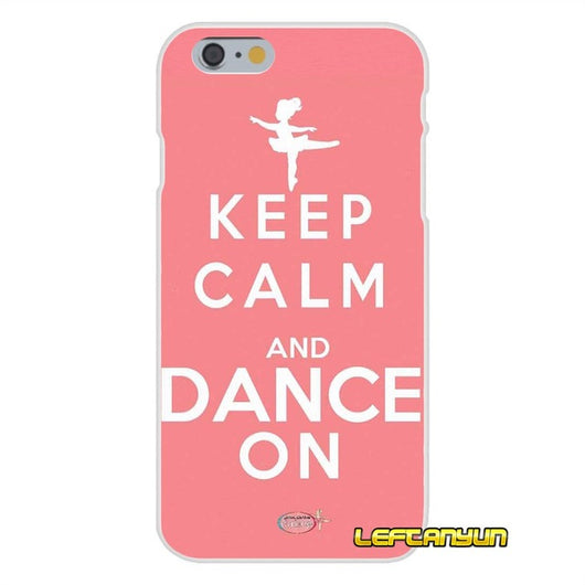 Keep Calm and Dance On Soft Silicone phone Case For Samsung Galaxy ...